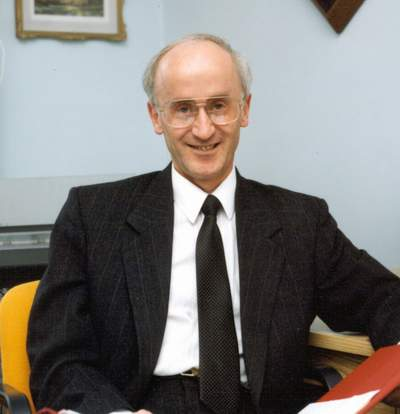 Don Patterson (c.1993) - FEBCanada's director of broadcast support.