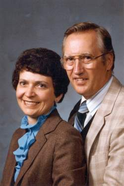 Jake & Elaine Janz - Jake is appointed FEBCanada's first Prairie representative in 1984.