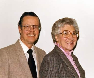 Rev. Jim & Doris Pratt - executive director of FEBCanada from 1979-88.