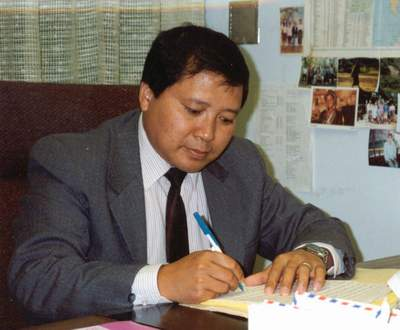 Sionh Chan (c.1991) - Khmu-language program producer.
